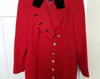 ESCADA by Margaretha Ley Vintage Wool Coat