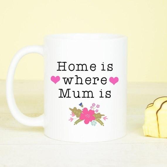 Personalised Mum mug, lovely gift for Mum, make your Mother smile gift mug