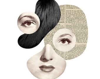 Miss Modular / Fine Art Print / Impression papier d'art / A3 A4 A5