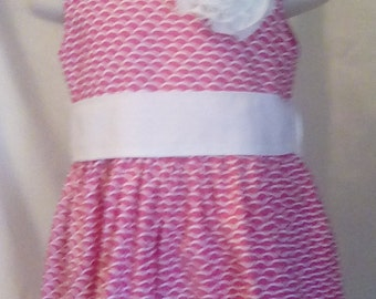 Pink Dress, Size 2 Party Dress, Easter Dress, Church Dress, Special Occasion