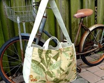 Vintage 80s Paper Boy Courier Bag - Cross body shoulder bag based on vintage newspaper bag