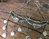 Quartz Crystal and Coin Chandeliers