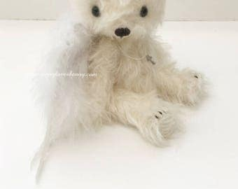 LIMITED Angel - OOAK artist bear and friends pattern and kit by Jenny Lee of jennylovesbenny bears