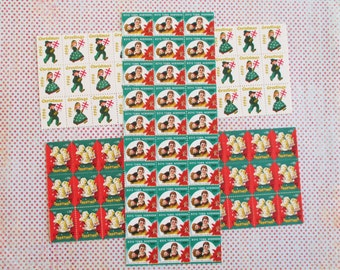 300 Vintage Tuberculosis / Boy's Town Christmas Stamps or Seals (B)