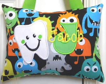 Tooth Fairy Pillow - Monsters