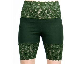 Dark green shorts | Etsy