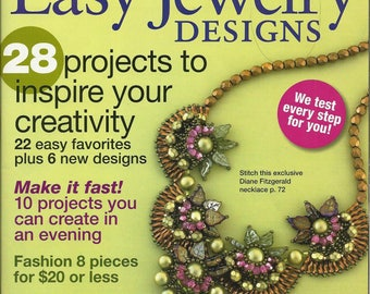 Bead and Button Special ~ Guide to Easy Jewelry Designs ~ 2010