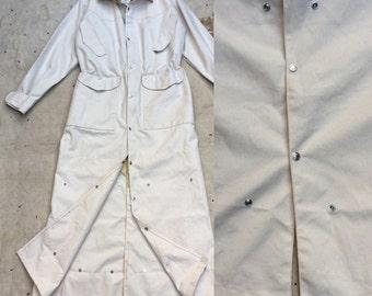 vintage ca. 1990s J. Peterman horseman's duster coat