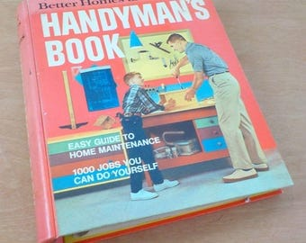 1970 Better Homes and Gardens Handyman's Book • Ring Binder Bound DIY Home Improvement Work Book