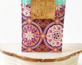 Kindle Paperwhite, Kindle Oasis, Kindle Voyager Case, Kindle Case, Kindle Sleeve,Nook Sleeve,Ereader Accessories in Wanderlust Purple Damask