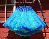Miss Allie Petticoat ~ Level 1 - 2 - 3 or 4 ~ Extra-Full soft nylon pettiskirt ~ chiffon ruffle edge tutu