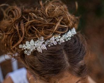 Rhinestone Hair Vine, Rhinestone headband, Hair Vine, Rhinestone Hairpiece
