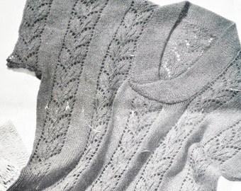 Vintage 1950s Knitting Pattern Women's Sweater Lacy Sleeveless Summer Jumper - 3 designs Jaeger No. 3398 UK - 50s original pattern