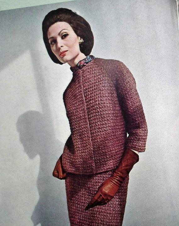 Vintage Vogue Knitting Patterns 1960s Vogue Knitting Book No