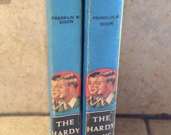 Two Hardy Boys Mystery Books