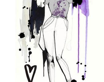 A5 Illustrated Look - book - fashion illustration
