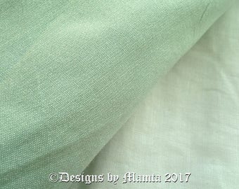 Mint Green Indian Silk Fabric By Yard, Dupioni Art Silk Fabric, Curtain Material, Artificial Silk, Bridesmaid Wedding Material, Silk Fabric