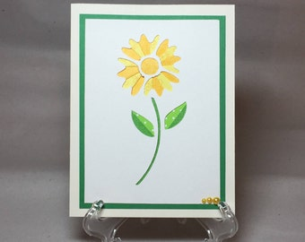 Beautiful Iris Folded Card, Greeting Card, Mother's Day Card, Best Friend Card, Because Card, Birthday Card, Thank You Card, Flower Card