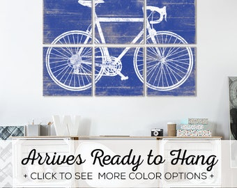 Browse our Vintage Road Bike Wall Art - Available in over 25 colors and comes in 2 sizes