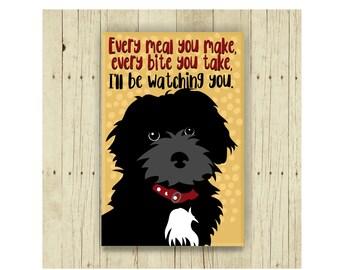 Yorkiepoo Magnet, Yorkiepoo, Dog Magnet, Dog Lover Gift, Yorkiepoo Gift, Fridge Magnet, Refrigerator Magnet, Yorkiepoo Gift, Funny Dog