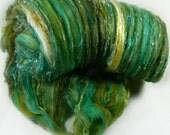 Tut Textural Art Batt for spinning and felting (3.6 ounces), batt, art batt