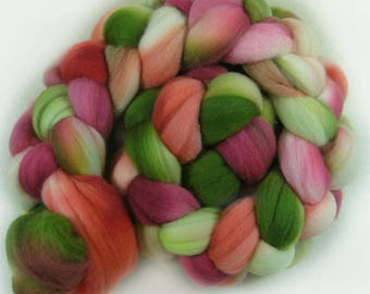 Orchard 2 merino wool top for spinning and felting (4 ounces)