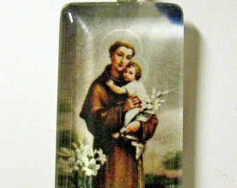 Saint Anthony of Padua pendant with chain - GP01-538