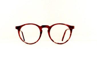 80s 90s Tech Op Eyeglasses Frames Vintage 1980's 1990's Tortoiseshell Key Hole Frames #M540 DIVINE