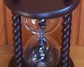 Heirloom Wedding Hourglass - Engraving on Base of Hourglass
