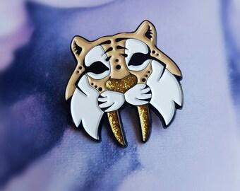 FUNDRAISER PIN - Saber-tooth Tiger - Soft enamel Pin