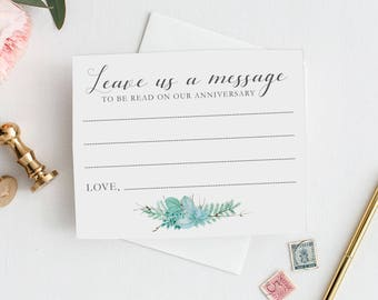 Message card Etsy
