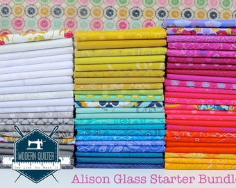 Alison Glass - Starter Pack - Stash Builder - Fat Sixteenth Bundle MQ Exclusive - 67 prints!!