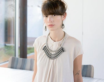 Desire Necklace   Rope Collection   Fashion Jewelry   Contemporary Necklace   Statement Necklace   Modern Style   Hand Made   Gift For Her