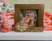 Bridesmaid Picture Frame Gift Personalized Picture Frame Bridal Party Gift Maid of Honor Picture Frame Matron of Honor Picture Mini Frame