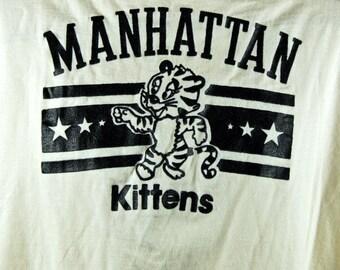 1970's Manhattan Kittens T-Shirt