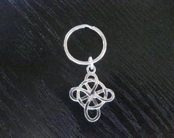 DS Celtic Knot Key Ring
