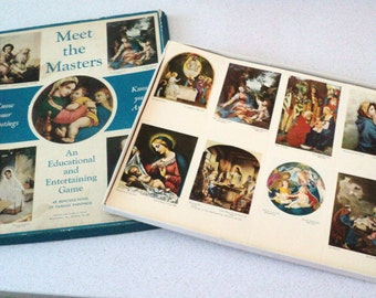 Religious Art. Meet the Masters Game. Barton Cotton. Know Your Paintings 48 Reproductions