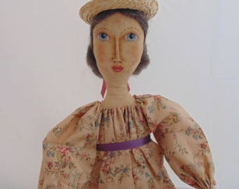 Lovely one of a kind folk art doll