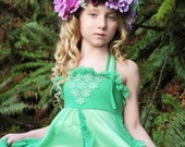 purple flower crown, READY TO SHIP, lavender and vintage green tieback, maternity flower sash, ready to ship, just add measurement