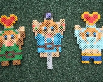Legend of Zelda BoTW 8-Bit Link Perler