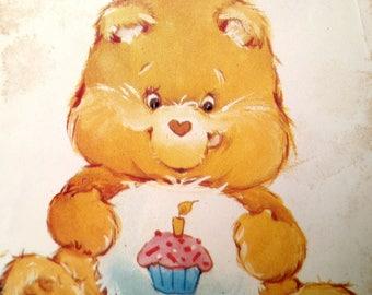 6229 Butterick Birthday Bear Pattern Care Bear