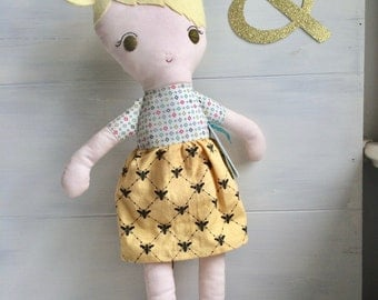 Luisa - an eco-friendly Classic Doll