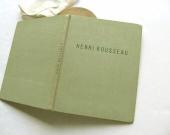 Vintage Henri Rousseau Art Wilhelm Uhde 1923 Contemporary Artist Life Work Attached Art Pages German Berlin Dresden Kinderbildnis Childhood