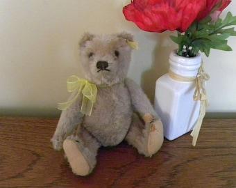 """Steiff Bear - 8"""" Mohair Teddy Bear - Steiff Little Bear"""