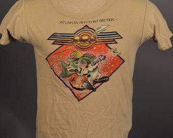 Vintage 1978 ATLANTA RHYTHM SECTION vtg rock concert tour t-shirt Small