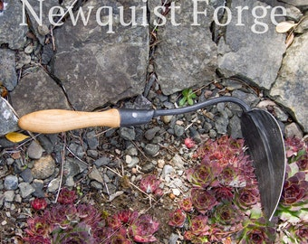 Gardening Tools, Forged Garden Tools, Korean Garden Hoe, Heirloom Garden Tool, Traditional hand plow Ho Mi, EZ digger, Made in the USA