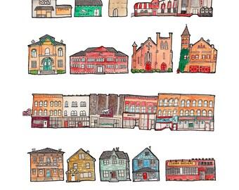 Ypsilanti City Print