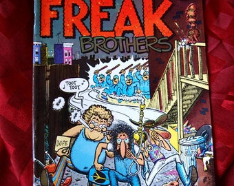 The Fabulous Furry Freak Brothers Collected Adventures 1971 Comix Rip Off Press Comics Gilbert Shelton Dopers Gropers adult mature