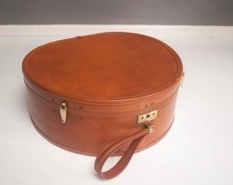 Mid-Century Round Samsonite Suitcase
