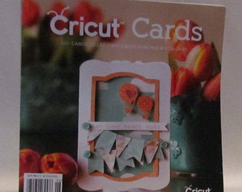 Idea Book - CRICUT CARDS MAGAZINE - Summertime- Vintage Look - Birthday - Thank You - Embossing - Card Making - Stamping